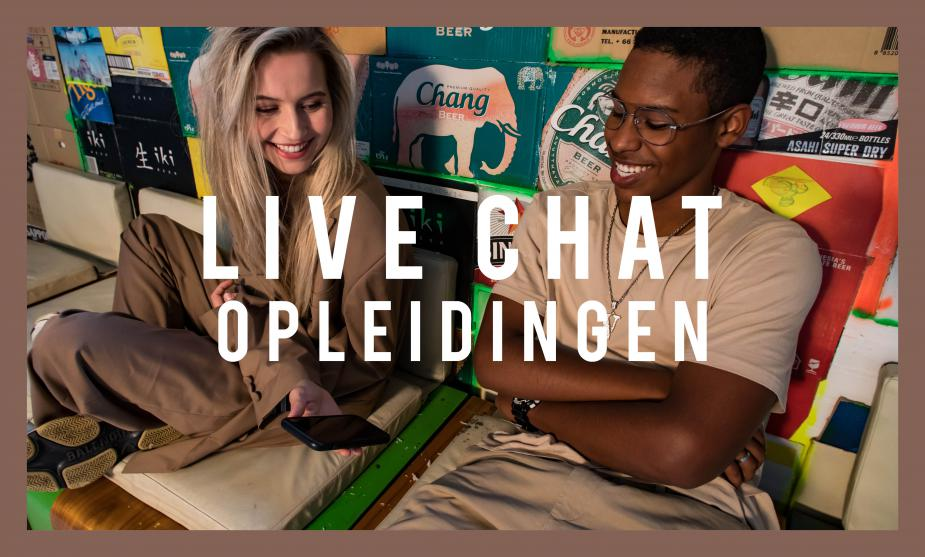 LIVE CHAT // Opleidingen
