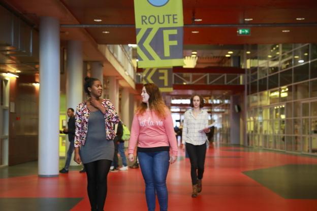 Studenten in HiStreet Aventus Apeldoorn
