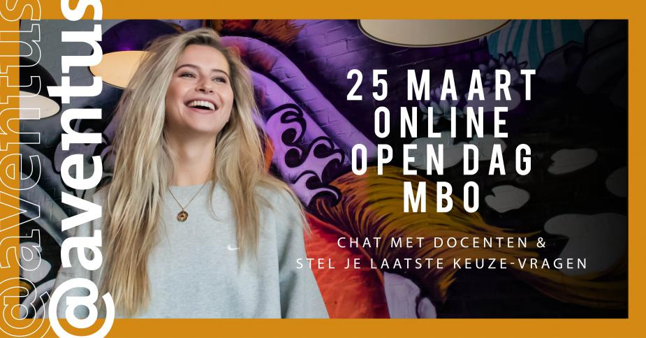 @aventus online open dag 25 maart