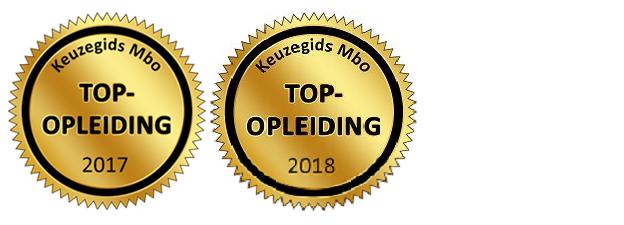 Kwaliteitszegel Top-opleiding Keuzegids Mbo 2017