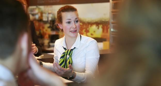 Brasserie Intermezzo teamoverleg