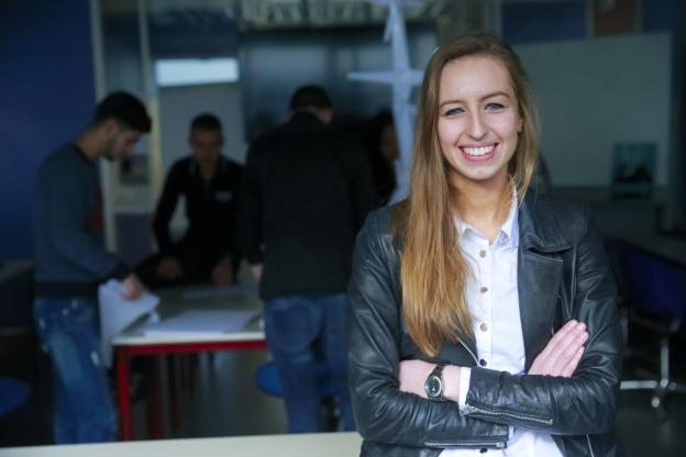 Aventus studente Zorg en Welzijn